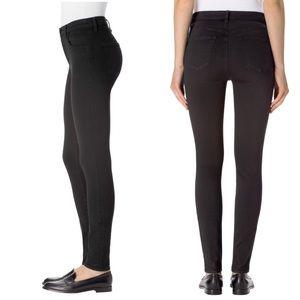 J Brand Pencil Leg High Rise Black Skinny Jeans